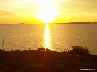sunset on the lake Victoria, Kisumu, Kenya